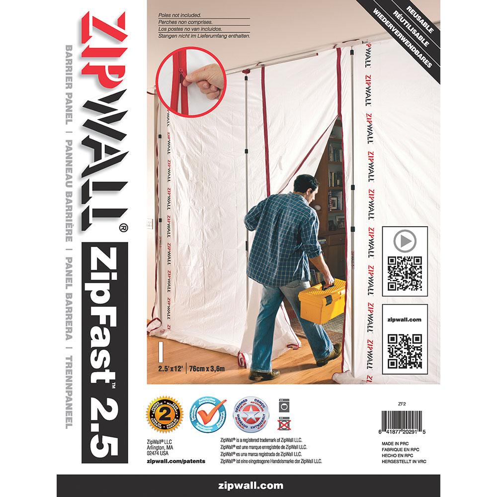 ZipWall ZipFast 2ft