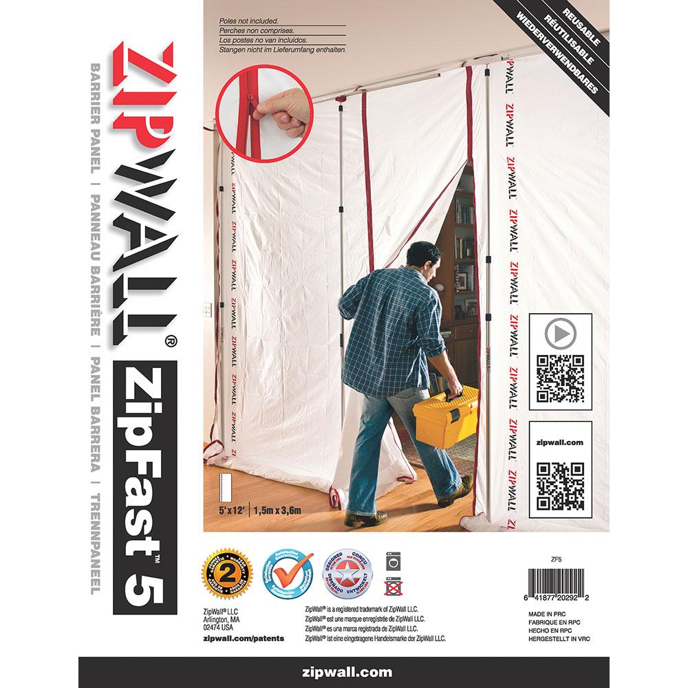 ZipWall ZipFast 5ft