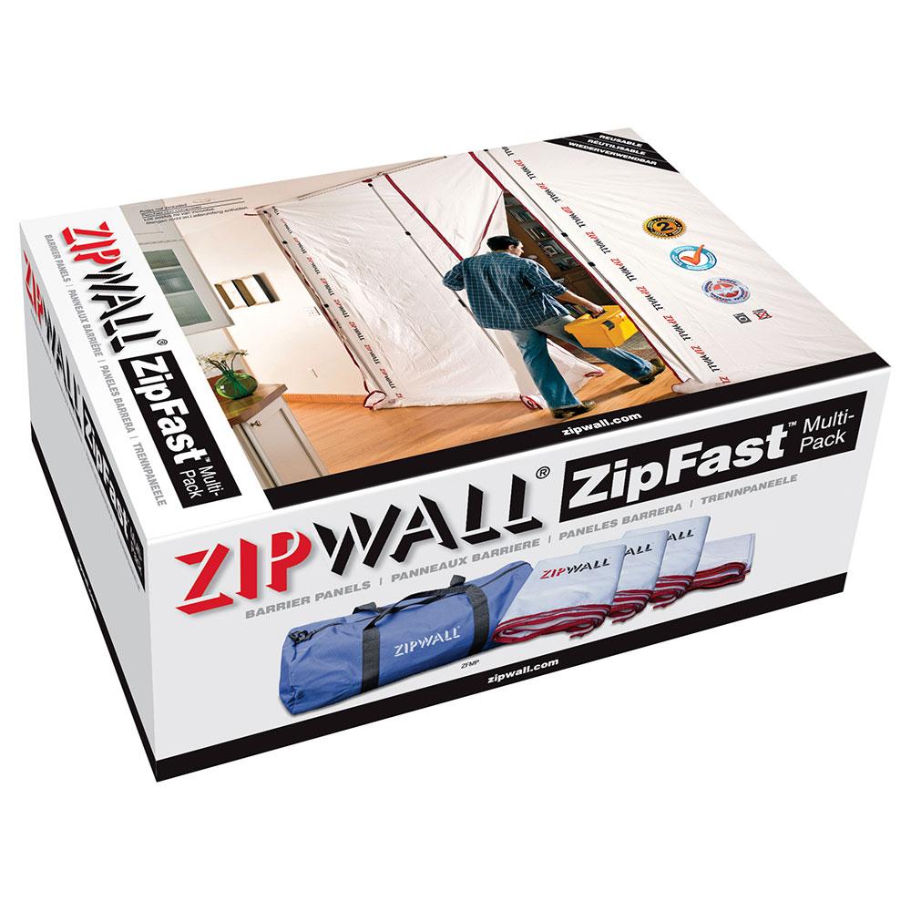 ZipWall ZipFast Multipack