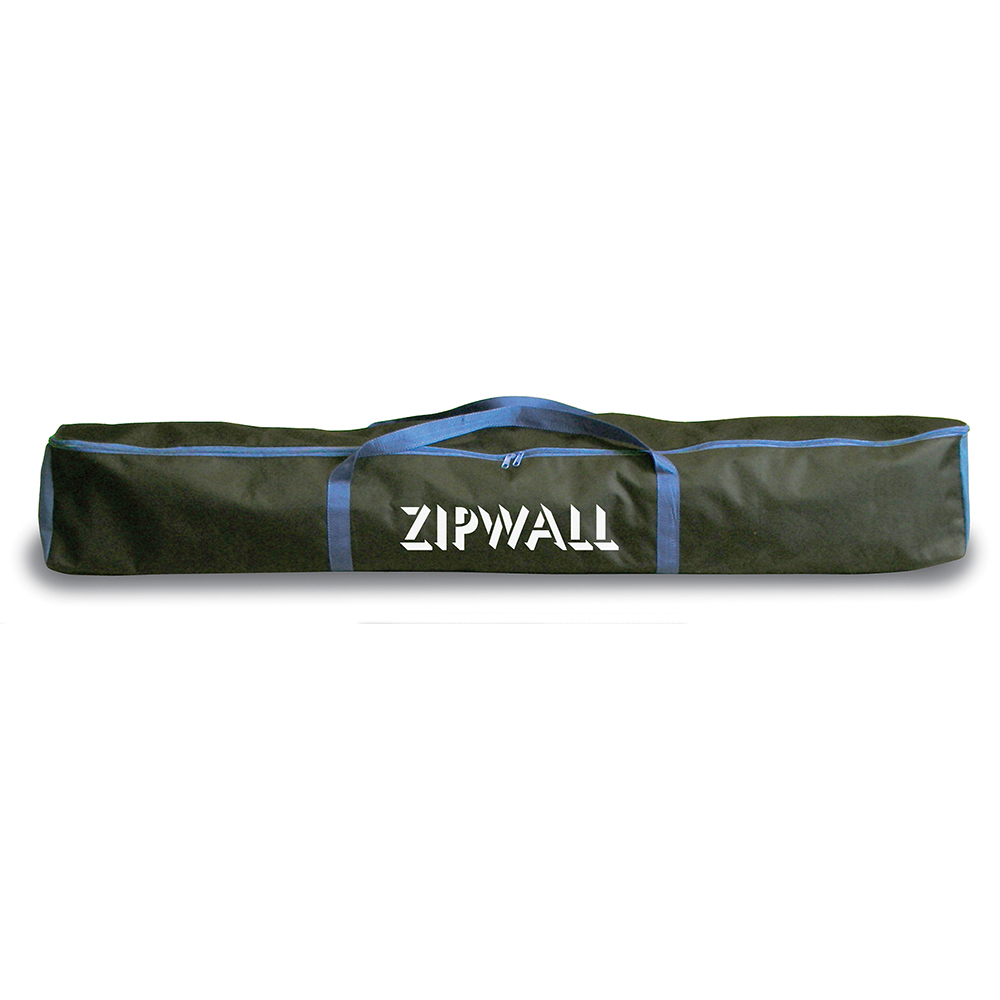 Zip wall carrier bag