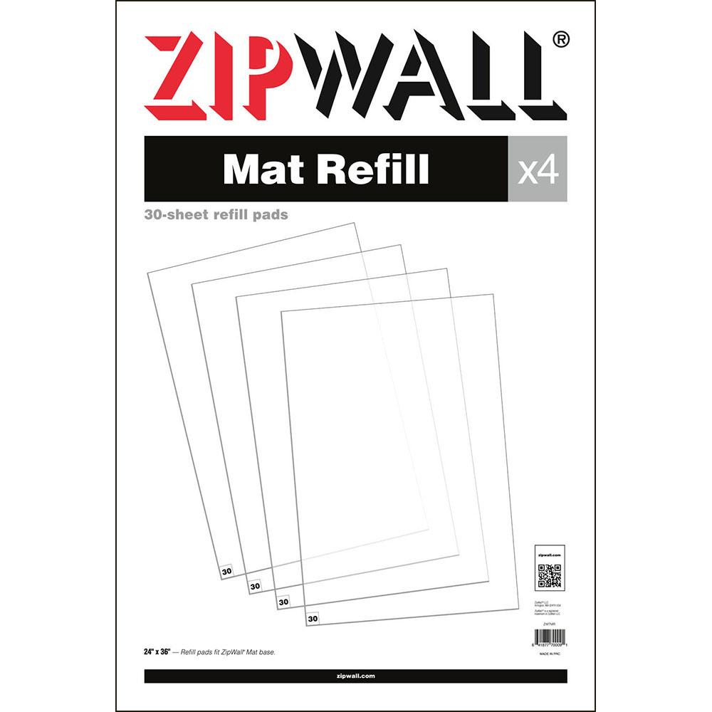 ZipWall Mat – Refill