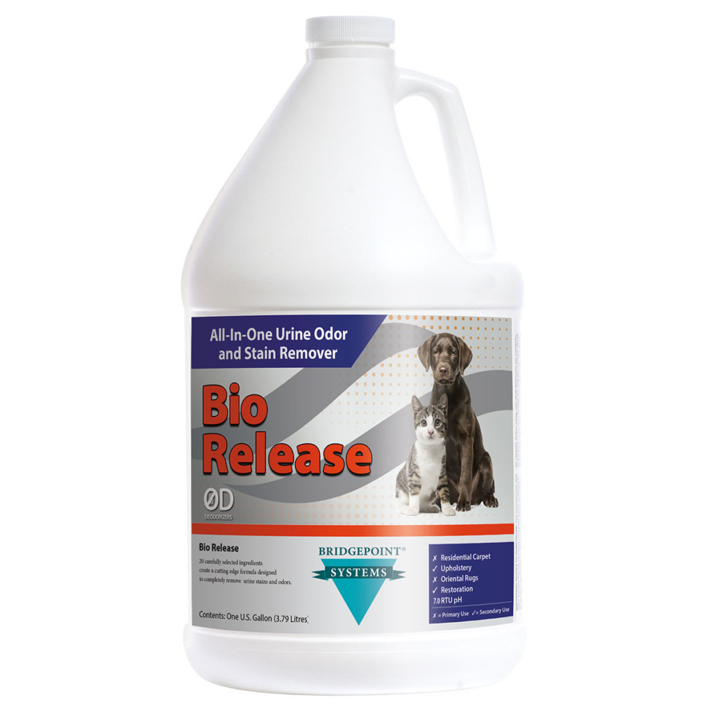 Bio-Release All-In-One Urine Stain & Odor Solution Breaks Down Contaminates | Digest Organic Material | Removes Stains |Limits Wicking |Neutralizes During Dry Time