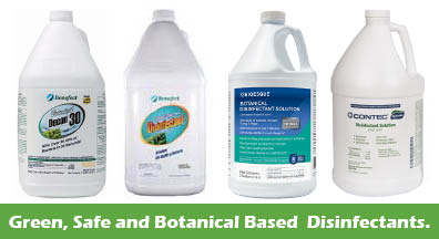 Green disinfectants