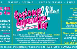 Customer Appreciation Day 2021 Barker-Hammer